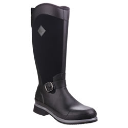 Small Image of Muck Boot - Reign Tall - Black/Gunmetal - UK Size 3