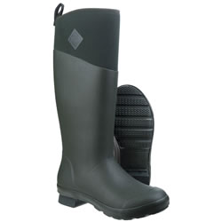 Extra image of Muck Boot - Tremont Wellie Tall - Deep Forest/Charcoal Gray