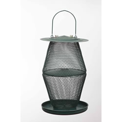 Small Image of No/No Forest Green Two Tier Lantern Wild Bird Feeder