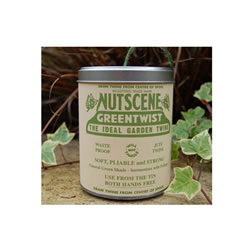 Small Image of Authentic Nutscene Tin O' Twine Jute String 150m:Green