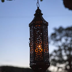Small Image of Hanging Lantern Medium
