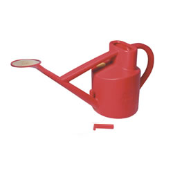 Small Image of Haws Practican Outdoor 6-litre Watering Can 5 year minimum life expectancy, Red