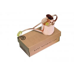 Small Image of Haws V181 1L Hand-Made Copper Watering Can - Gold