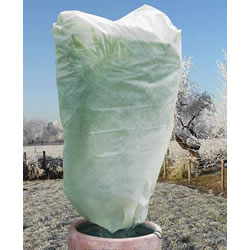 Small Image of 2 x Haxnicks Large Easy Fleece Jackets: Frost Protection for Plants - 1.8m x 1.2m