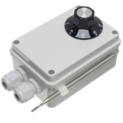 Small Image of Weatherproof Thermostat