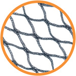 Small Image of 5m x 8m* Bird Netting Heavy-Duty Woven Garden: Fruit Cages, Chicken Runs, Ponds
