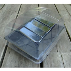 Small Image of 6 Half-Size Propagator Lids: for Seeds & Cuttings