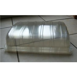 Small Image of 6 Clear Plastic Full Size Seed Propagator Lids: for seed trays