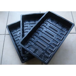 Small Image of 3 Standard Full-Size Seed Trays: Propagation, No Drainage Holes