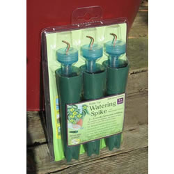 Small Image of 6x Aqua Balance Bottle-Top Watering Spikes - Long