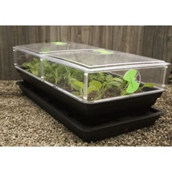 Salad & Veg Planter with Mini Greenhouse - Large