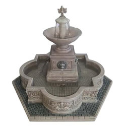 Small Image of Lemax Christmas Village - Modular Plaza-Fountain Accessory - 4.5V Adapter (64061)
