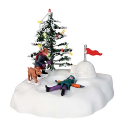 Small Image of Lemax Christmas Village - Angel's Wings - Battery Operated (44187)