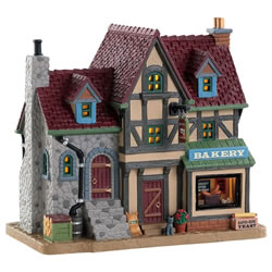 Small Image of Lemax Christmas Village - Campfire Cookies Figurine (82592)