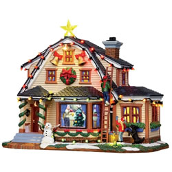 Small Image of Lemax Christmas Village - Decorating The House - 4.5V Adapter (15247-UK)