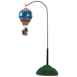 Small Image of Lemax Christmas Village - Reindeer Hot Air Balloon - Battery Operated (84388)