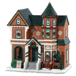 Small Image of Lemax Christmas Village - The Millers House - Battery Operated (85350)
