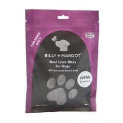 Small Image of Billy & Margot Beef Liver Bites 60g