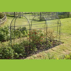 Small Image of Haxnicks Long Steel Garden Cage
