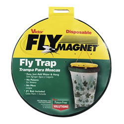 Small Image of Victor Poison Free Pest Control M530 Fly Magnet Bag Trap with Bait
