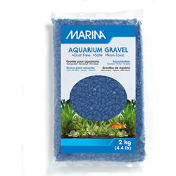 Small Image of Marina Decorative Aquarium Gravel Blue 2kg