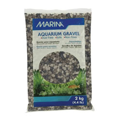 Small Image of Marina Decorative Aquarium Gravel Grey Tone 2kg