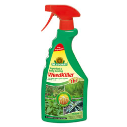 Small Image of Neudorff Super Fast Long Lasting Biodegradeable Weedkiller Spray, 750ml