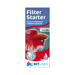 Small Image of NT Labs Aquarium Filter Starter 100ml