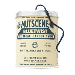 Small Image of Authentic Nutscene Tin O' Twine Jute String 150m: Blue