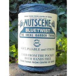 Small Image of Nutscene Heritage Jute Twine String 120m Spool 3-Ply Tangle Free Blue