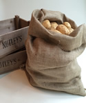 Small Image of Extra Large Hessian Potato Sack (66 x 115cm)