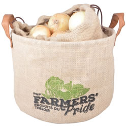 Small Image of Hessian Onion Drawstring Storage Bag