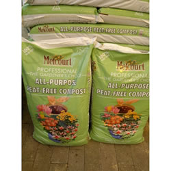 Small Image of 70L bag of Melcourt RHS Endorsed Peat Free Compost ideal for pots and planting