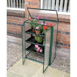 Small Image of Cold frame Polycarbonate Mini Greenhouse Green