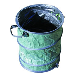 Heavy Duty Pop-Up Garden Bin - ideal for leaves