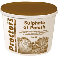 Small Image of 5kg tub of Proctors sulphate of potash general garden fertiliser soil improver