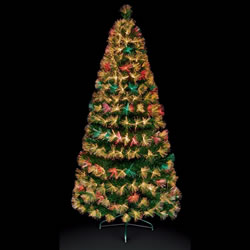 Small Image of Premier 1.8m Colour Change Firework Burst Christmas Tree with Warm White LEDs (FT171087)