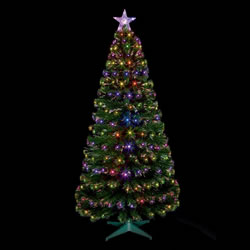 Small Image of Premier 1.8m Green Christmas Tree with LEDs (FT141157)