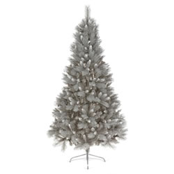 Small Image of Premier 1.8m Silver Tip Fir Grey Christmas Tree (TR600STF)