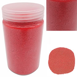 Small Image of 500g Coloured Red Decorative Sand Wedding Vase Craft Pot Decoration