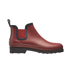Small Image of Briers Size 8 Claret Chelsea Garden Boots