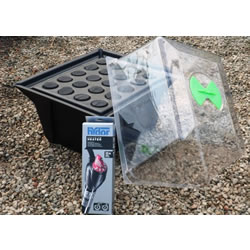 Small Image of Hydropod Heated Cuttings Propagator - For 20 Cuttings