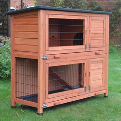 Small Image of RHL Rabbit Hutch & Run