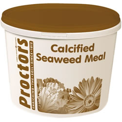 Small Image of 5kg tub of Proctors Calcified Seaweed general garden fertiliser & soil improver