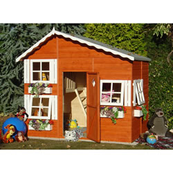 Small Image of Shire - Loft Playhouse (8' x 6') Two Storey