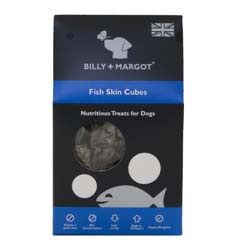 Small Image of BIlly & Margot Fish Skin Cubes 60g