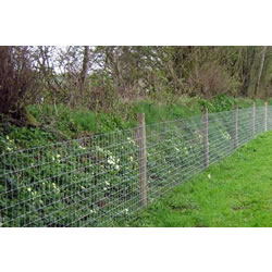 50m roll of L8/80/15 wire fence - ideal for gardens and dog proofing etc