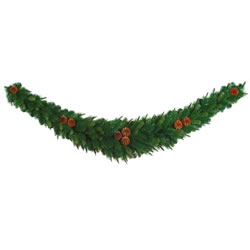 Small Image of Tree Classics 1.8m (6ft) Green Mixed Pine Artificial Swag (614-270-488)