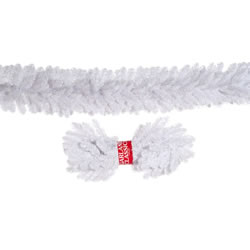 Small Image of Tree Classics 2.7m X 30cm Alaskan White Artificial Christmas Garland (912-210-850W)