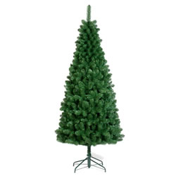 Small Image of Tree Classics 2.4m (8ft) Green Slim Artificial Christmas Tree (96-845-970)